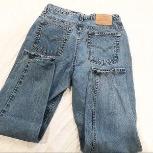 Vintage | Levi's 521 Tapered High Waist Mom Jeans
